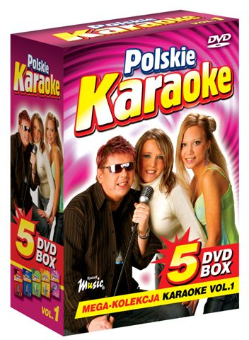 5 DVD BOX Polskie Karaoke vol.1