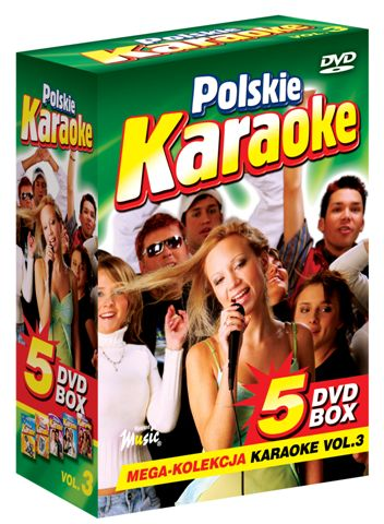 5 DVD BOX Polskie Karaoke vol.3