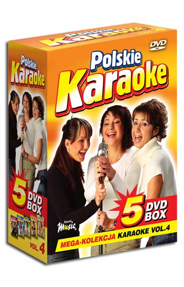 5 DVD BOX Polskie Karaoke vol.4