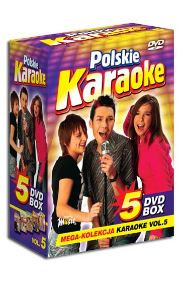 5 DVD BOX Polskie Karaoke vol.5